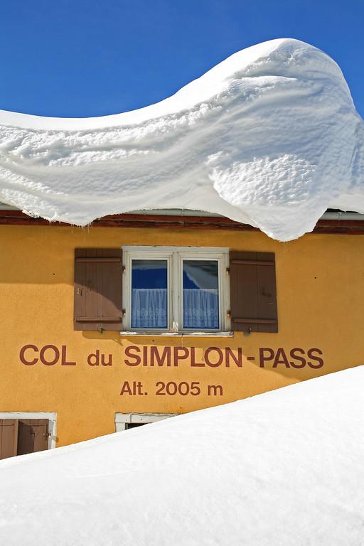 Simplon Pass, Valais /  Col du Simplon, Valais