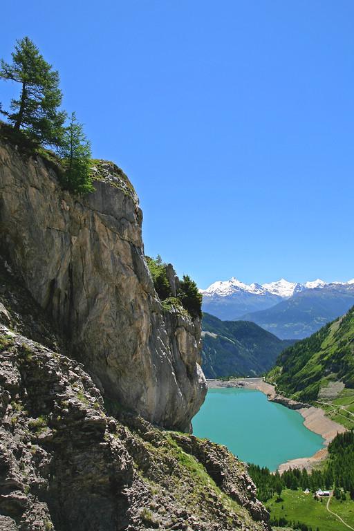 Lac de Tseuzier, Valais