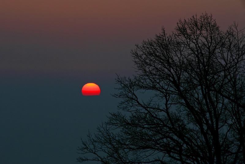 Sunset / Soleil couchant