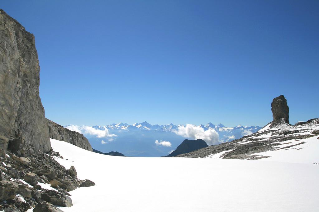 La Quille du Diable, glacier des Diablerets