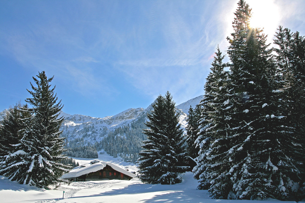 Les Mosses in winter / Les Mosses en hiver
