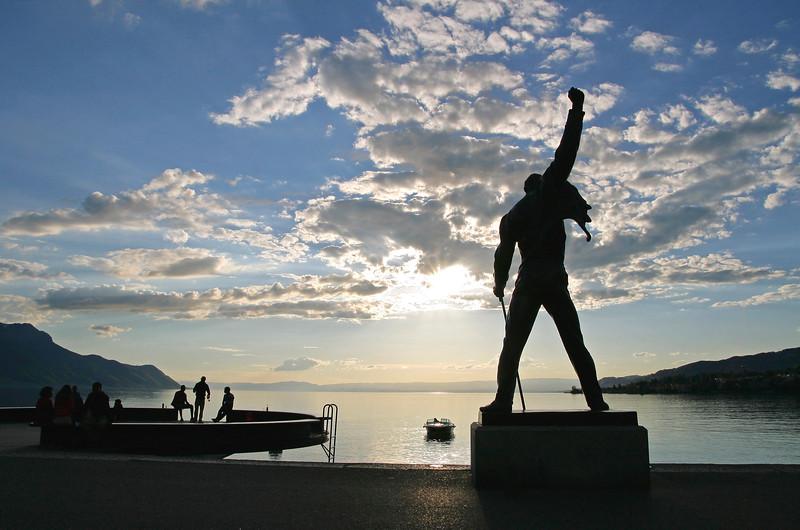 Montreux evening / Fin de journée à Montreux