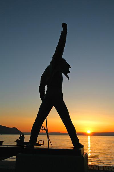 Montreux sunset / Montreux au couchant