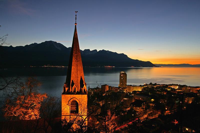 Montreux at night / Montreux de nuit