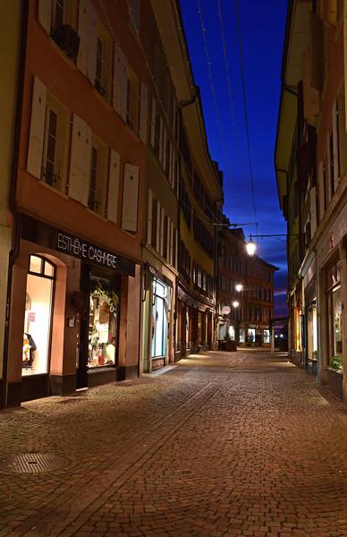Vevey at night / Vevey de nuit