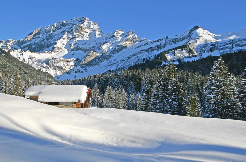 Winter in Villars / L'hiver à Villars