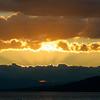 Lake Geneva summer evening / Fin de journée estivale sur le lac Léman