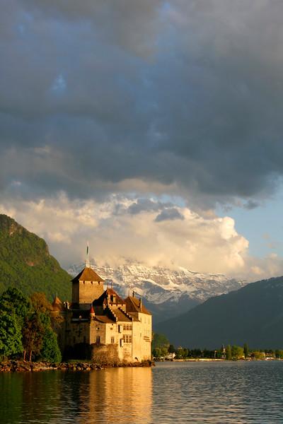 Chillon castle/ Château de Chillon