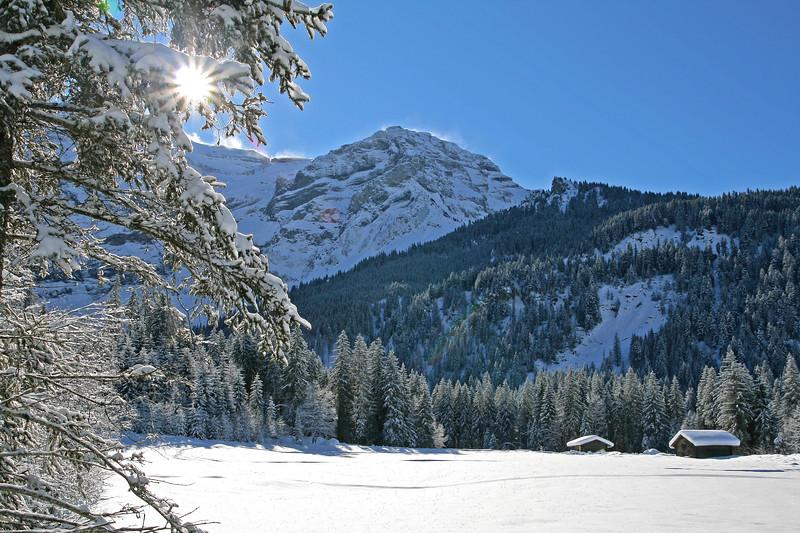 Les Diablerets in winter / Les Diablerets en hiver