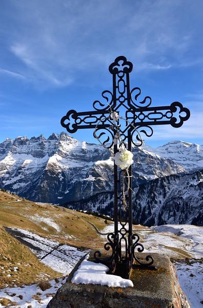 Early snow in Val d'Illiez / Première neige dans le Val d'Illiez