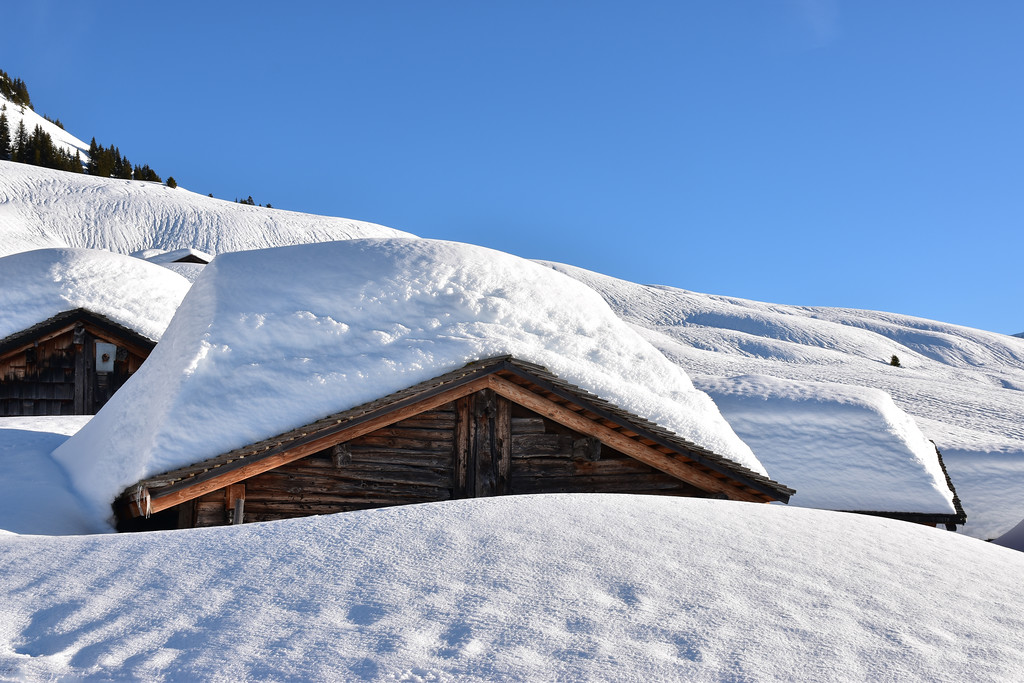 Ensex, Villars in winter / Ensex, Villars en hiver