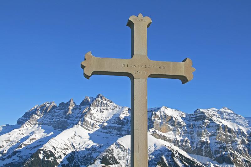 Croix de Culet, Val d'Illiez