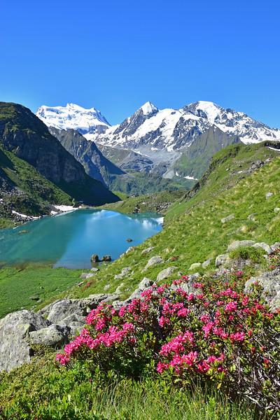 Lac de Louvie, Val de Bagnes