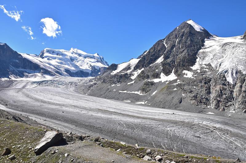 Glacier de Corbassière, Val de Bagnes