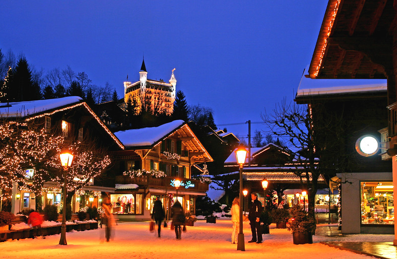 Gstaad at Christmas / Gstaad à Noel