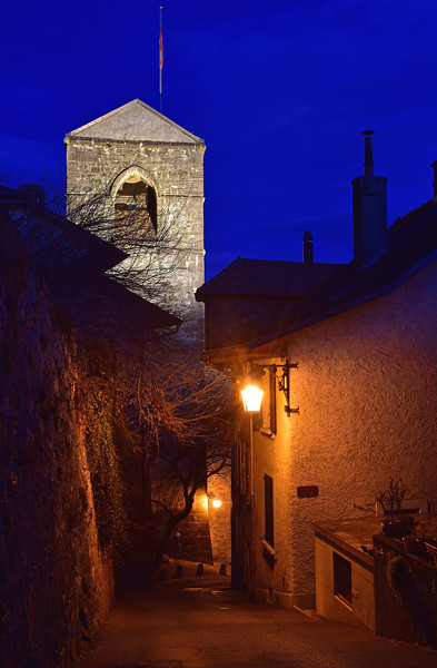 St Saphorin at night / St Saphorin de nuit