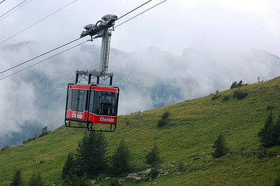 Wasserauen cable car