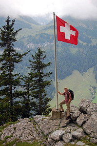 Typical Swiss mountain