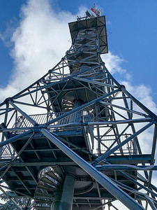 Observation tower on the summit of Bachtel, just outside Wald, Switzerland.