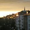 Sunset on Dornacherstrasse