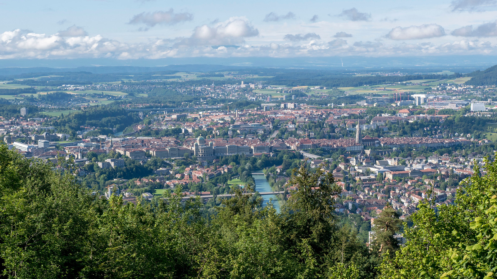 5 Spectacular Things to Do in Bern Switzerland - The Gurten - Views of Bern
