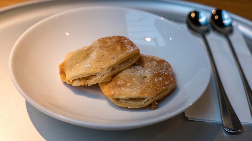 Apple desserts at Tibits in Bern Switzerland (Vegan)