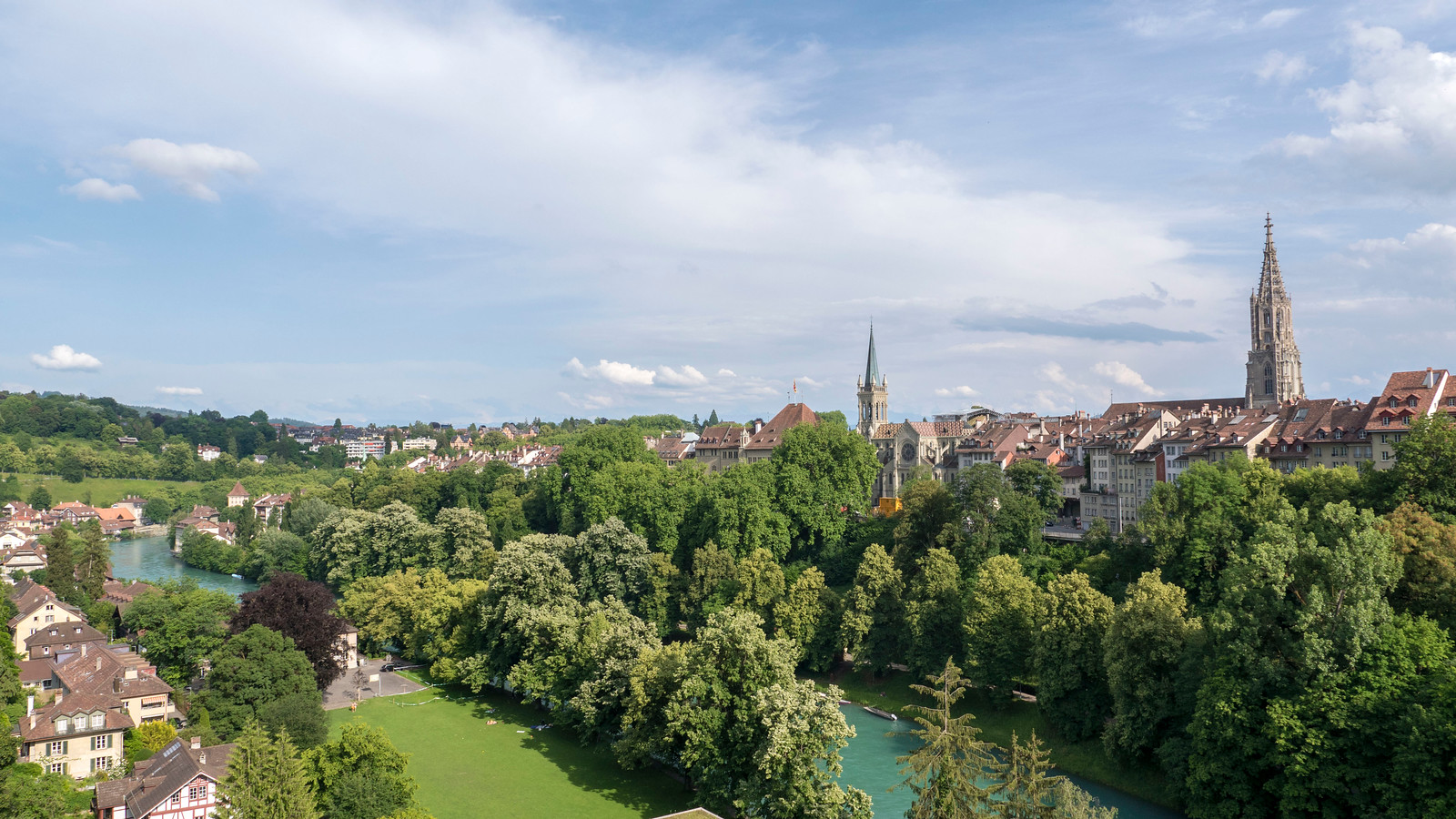 5 Spectacular Things to Do in Bern Switzerland - City View with the River