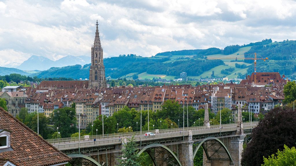Beautiful European cities: Bern, Switzerland