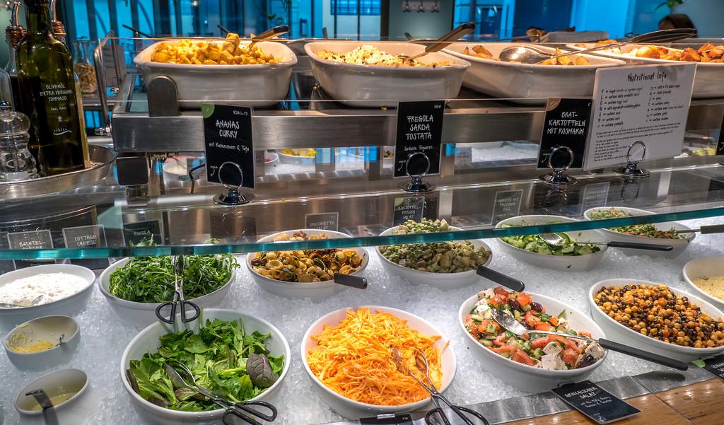 Tibits in Bern Switzerland - Vegetarian buffet restaurant