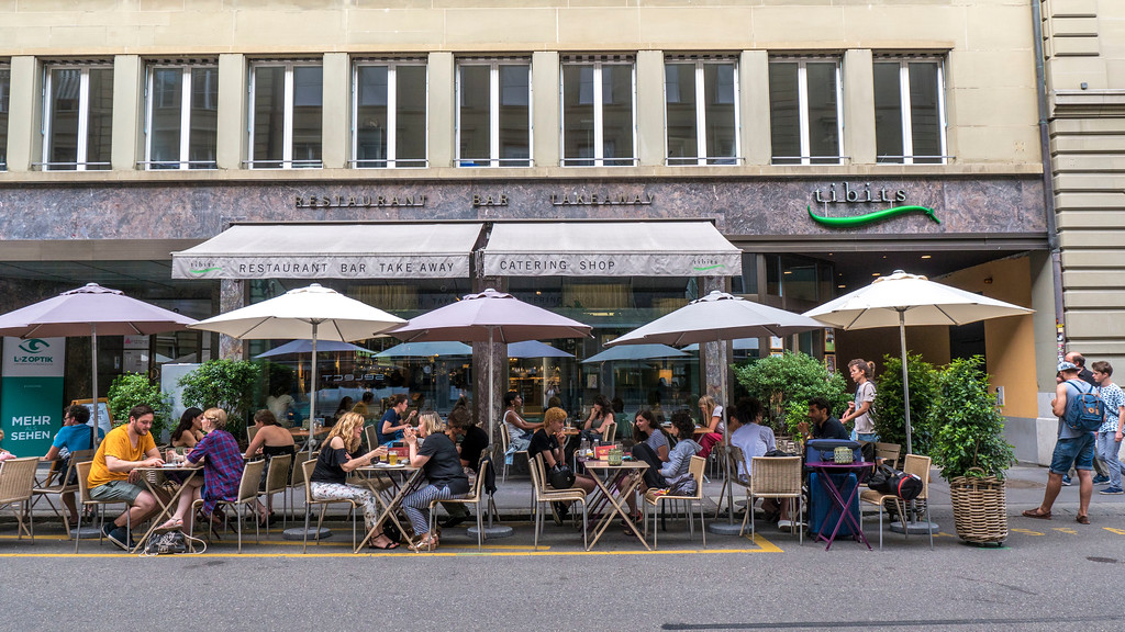 Tibits vegetarian and vegan restaurant Bern Switzerland