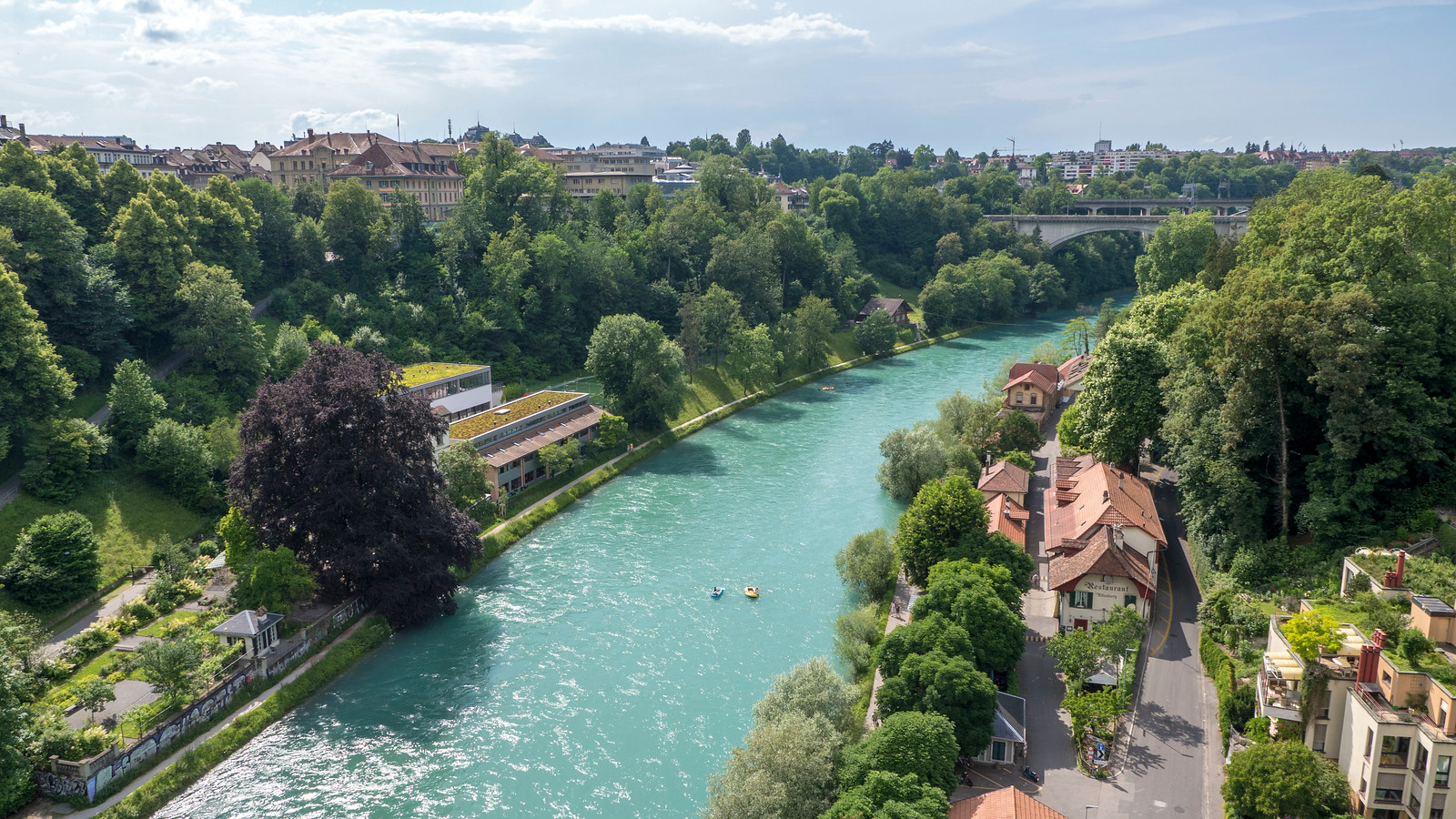 5 Spectacular Things to Do in Bern Switzerland - Tubing down River Aare