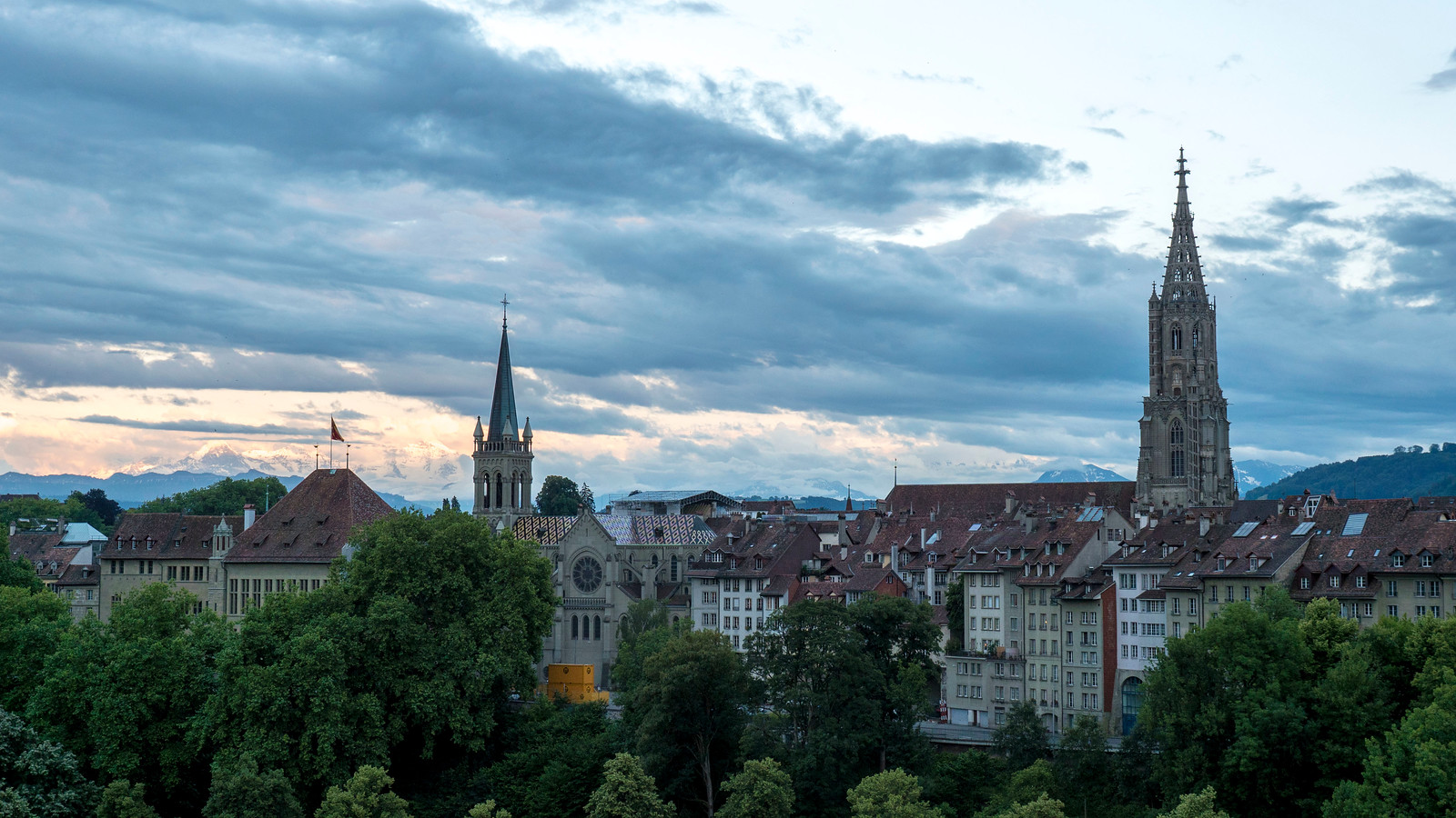 5 Spectacular Things to Do in Bern Switzerland - Sunset cityscape