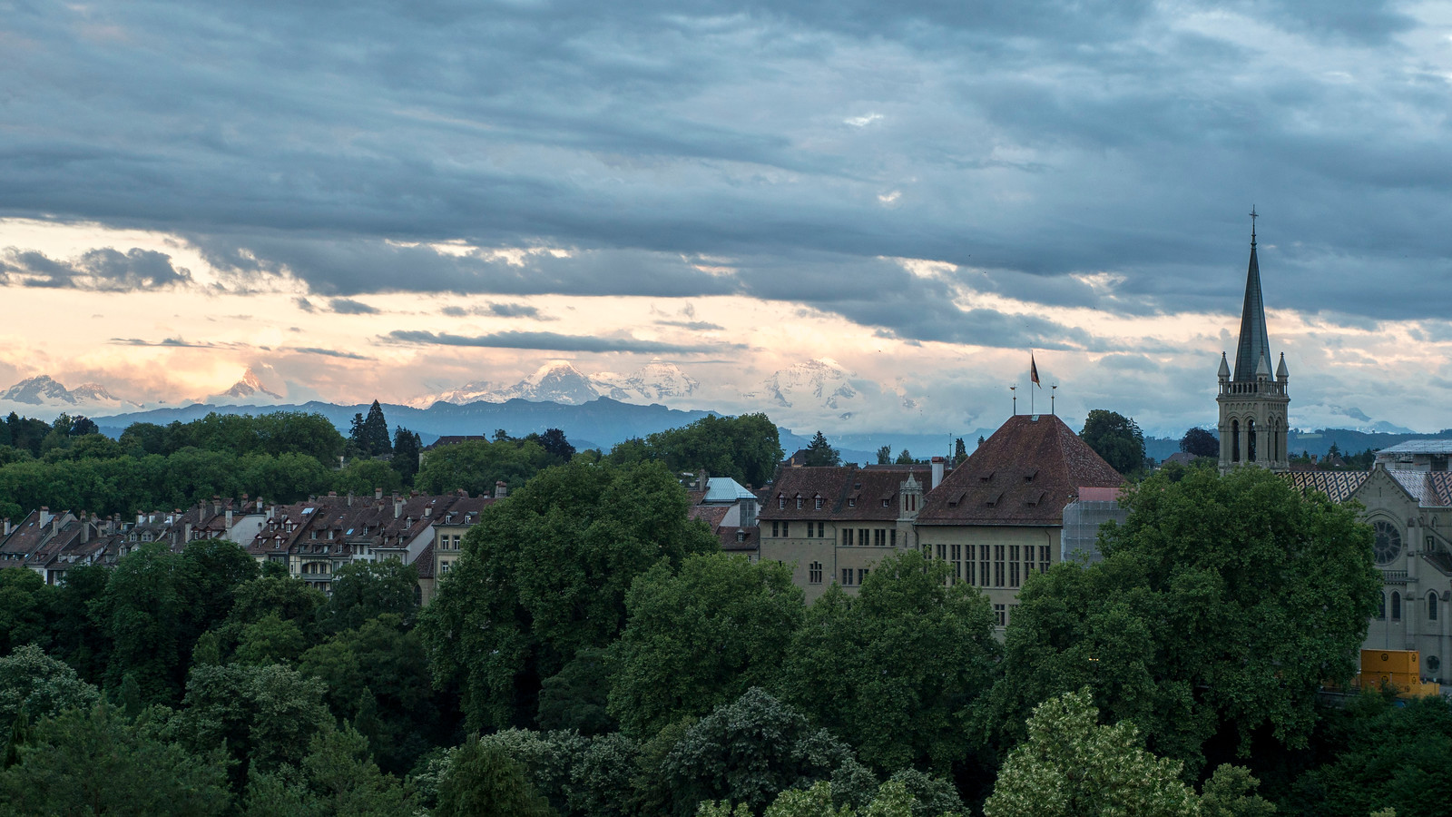 5 Spectacular Things to Do in Bern Switzerland - Bern at dusk