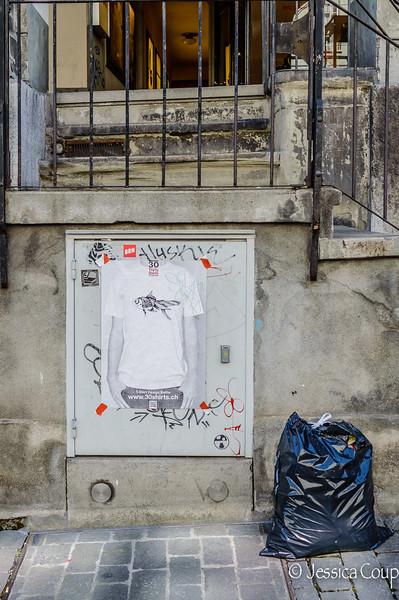 Graffiti and Trash