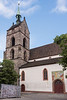 St. Martin's church (Martinskirche, built 1100 to 1398) Old Basel, Switzerland<br /> <br /> The old church is renowned for its acoustics and is the site for many concerts.