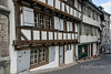 Medieval houses, Reinsprung Street, Old Basel, Switzerland