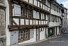 Medieval houses, Reinsprung Street, Old Basel, Switzerland