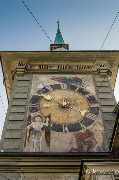 Adam and Eve Clock Tower
