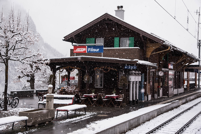 filisur train station