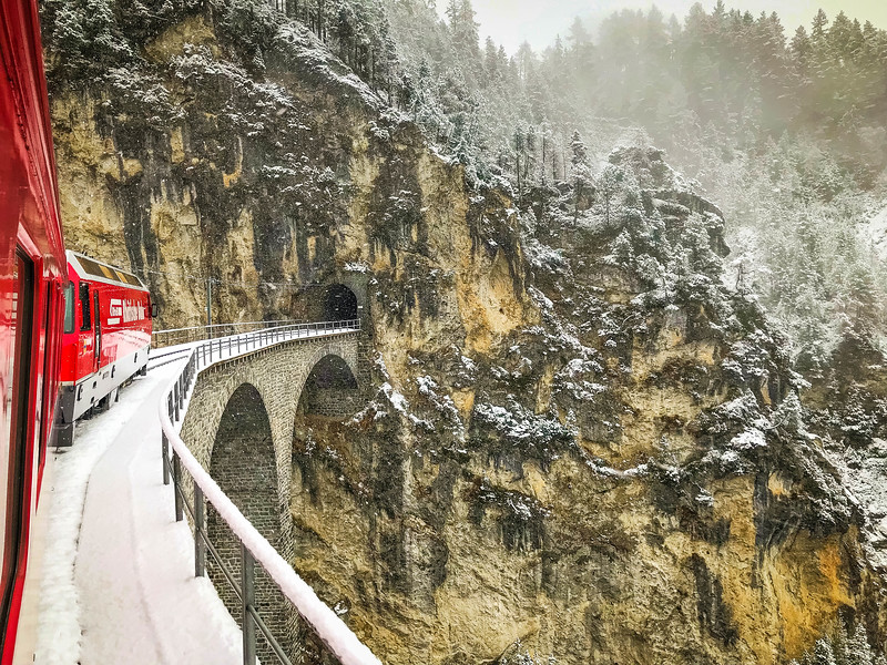 bernina express landwasser viaduct