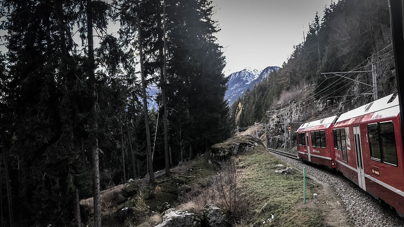 bernina express train