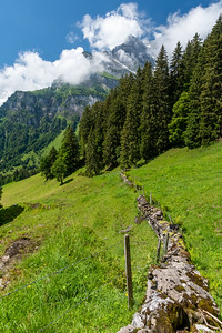 Mountain views from Braunwald.