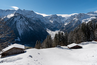 Stunning alpine views from Braunwald.