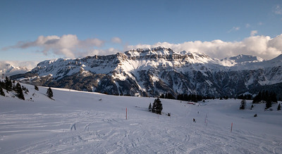 Late afternoon at Flumserberg.