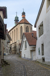 Streets of old Fribourg