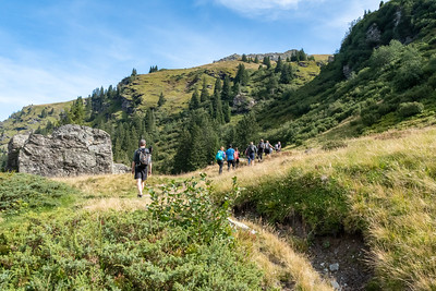 D-MTEC hike to Gandstock, Switzerland