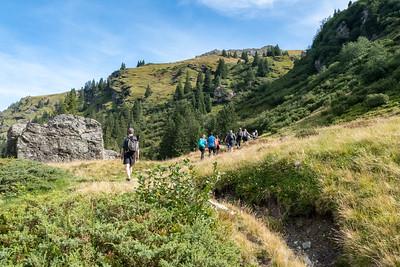 D-MTEC hike to Gandstock, Switzerland