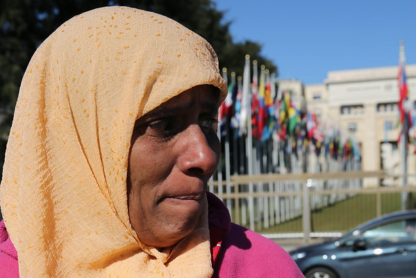 A Muslim Sri Lankan activist in Geneva to witness at the Human Rights Council, March 2015