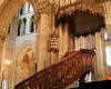 Carved Stairs & Pulpit