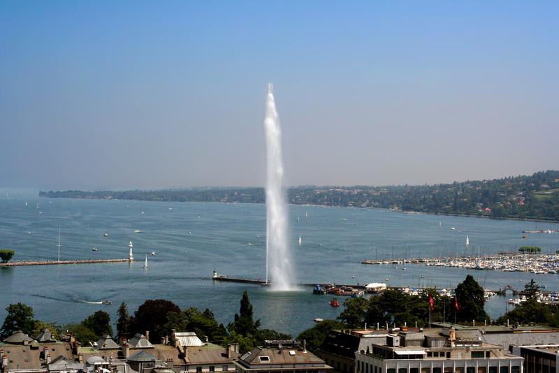 Jet d'Eau - Lake Geneva